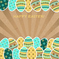 Easter greetings card Royalty Free Stock Photo