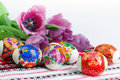 Easter holiday still life Royalty Free Stock Photo
