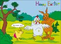 Easter with humor Royalty Free Stock Images