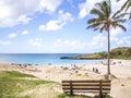 The Easter Island Beach