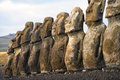 Easter Island, Chile Royalty Free Stock Images