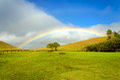 Easter Island Rainbow Royalty Free Stock Photo