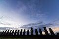 Easter Island Sunrise Royalty Free Stock Photo