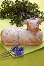 Easter lamb Royalty Free Stock Photo