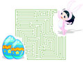 Easter Maze Royalty Free Stock Images