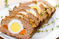 Easter Meatloaf Royalty Free Stock Image