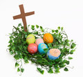 Easter Nest Royalty Free Stock Photos