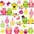 Easter Owls
