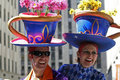 Easter Parade in New York Stock Images