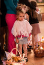 Easter, parishioners of the Orthodox Church. Royalty Free Stock Images