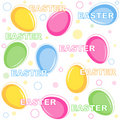Easter pattern Royalty Free Stock Photography