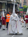 Easter procession in Cordoba, Spain Royalty Free Stock Photography