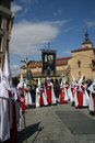 Easter Procession in Segovia Royalty Free Stock Photo