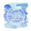 Easter Sale card. Vector illustration