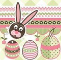 Easter scrapbook elements Stock Photo