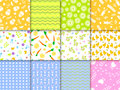 Easter seamless pattern background design vector illustration