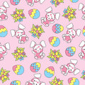 Easter Seamless Pattern With C...