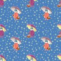 Easter seamless pattern-01 Royalty Free Stock Photo
