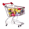 Easter shopping Stock Photos