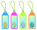 Easter shopping tags Royalty Free Stock Photo