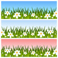 Easter or Spring Banners Royalty Free Stock Images