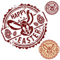 Easter Stamps Stock Image