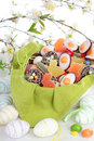 Easter sweets Stock Photography