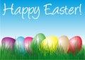 Easter szczęśliwy Zdjęcia Royalty Free