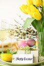 Easter table Stock Images
