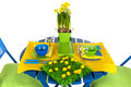 Easter table Royalty Free Stock Image