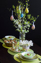Easter table superb traditional romanian Royalty Free Stock Photography