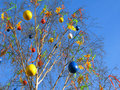 Easter tree Arkivbild