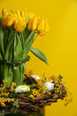 Easter - tulip Stock Photo