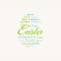 Easter typography background Stock Photos