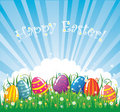 Easter vector banner Royalty Free Stock Photography