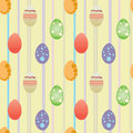 Eastern background egg wallpaper Stock Photography