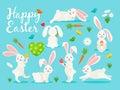 Eastern bunny banner design