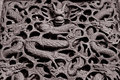 Eastern carve a traditional of dragon in china Royalty Free Stock Images
