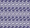 Eastern european traditional seamless pattern with berries in two colours Royalty Free Stock Images