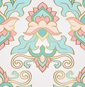 Eastern legant ornament for textile Royalty Free Stock Photo