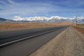Eastern sierra near bishop ca nevada mountains california along route Stock Photo