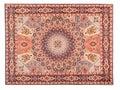 Eastern Silky Carpet. Classic Arabic Pattern Royalty Free Stock Photo