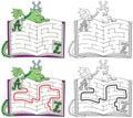 Easy dragon maze