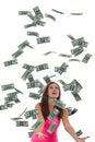 Easy make money online on internet jobs Stock Images