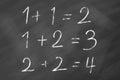 Easy mathematics Royalty Free Stock Photo