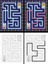 Easy rocket maze