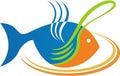 Eat fish logo