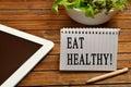 Eat healthy! Royalty Free Stock Photo