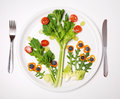 Eat more vegetable Royalty Free Stock Photo