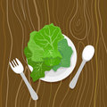 Eat your greens Royalty Free Stock Photography